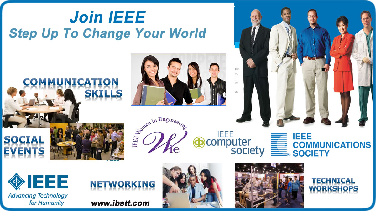 Join IEEE - Step up to Change Your World